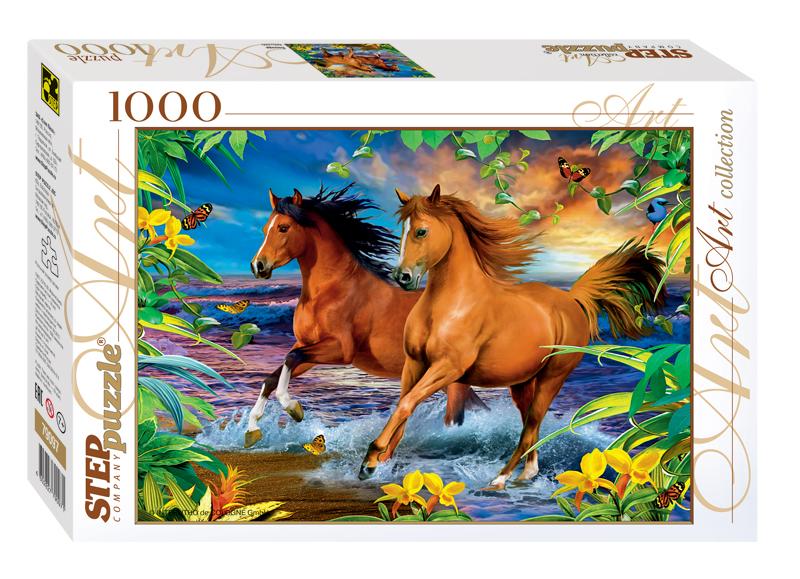 Пазлы картинки лошадей