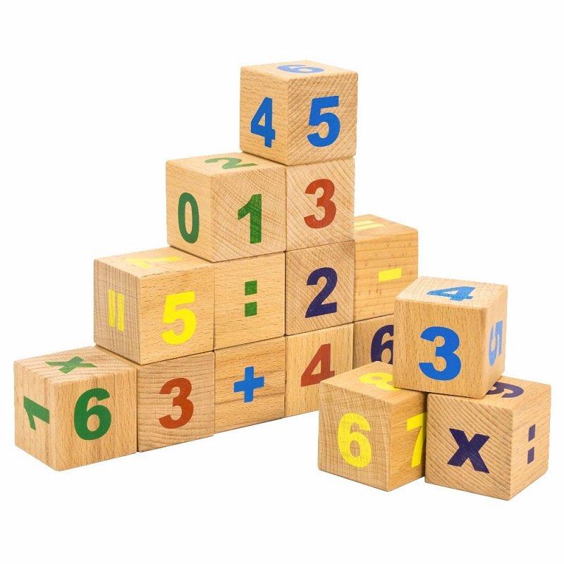 Кубики детские с картинками