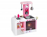 Игровой комплекс Smoby Кухня Hello Kitty MiniTefal Cheftronic, электронная